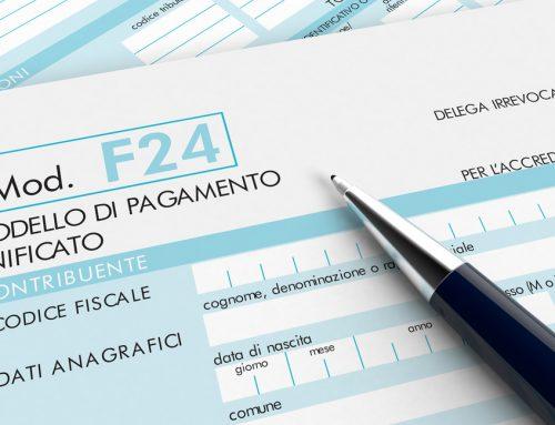 AGENZIA ENTRATE: PRESENTAZIONE F24 CONTENENTE CREDITI D'IMPOSTA UTILIZZATI IN COMPENSAZIONE