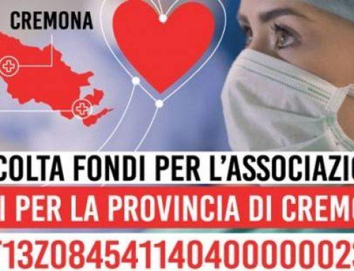 Uniti per la provincia di Cremona: aiutiamo i nostri ospedali
